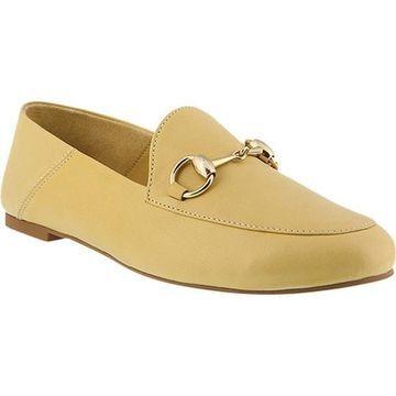 Azura Women's Emeka Loafer Yellow Leather