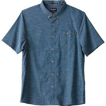 KAVU Men's Welland Shirt - Large - Inkwell