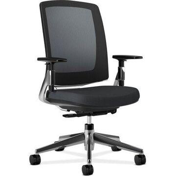 HON, HON2283VA10PA, Lota Mesh Back Chair, Arms, 1 Each, Black