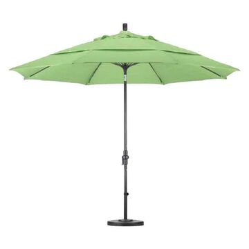 California Umbrella Fiberglass Market Umbrella Collar Tilt Bronze, Ole