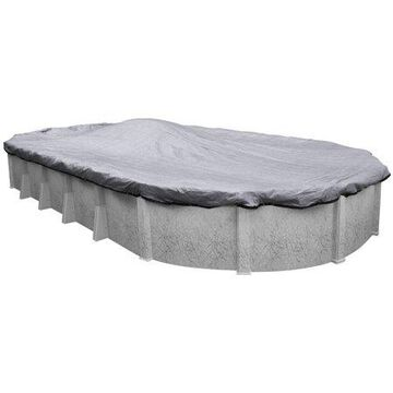 Robelle 10-Year Dura-Guard Mesh Oval Winter Pool Cover, 15 x 30 ft. Pool