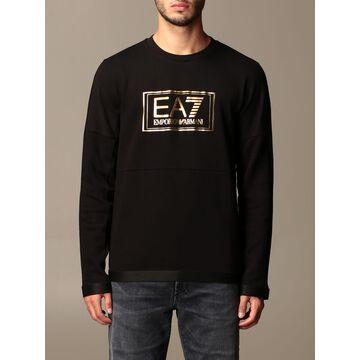 Ea7 Sweatshirt Ea7 Crewneck Sweatshirt With Logo