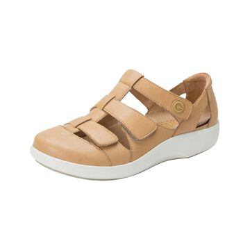 Alegria Women's Sandals NATURAL - Tan Treq Leather Sandal - Women