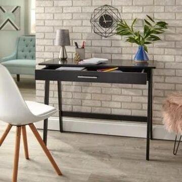 Simple Living Rollins Desk (Black)