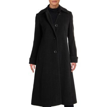 Jones New York Womens Petites Winter Wool Walker Coat