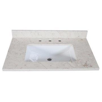 Design House 556985 Quartz Vanity Top 25