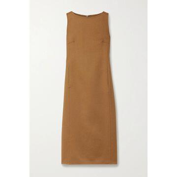 Max Mara - Dumbo Wool Midi Dress - Brown