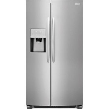 Frigidaire Gallery 22.2-cu ft Side-by-Side Refrigerator with Ice Maker (Fingerprint-Resistant Stainless Steel)