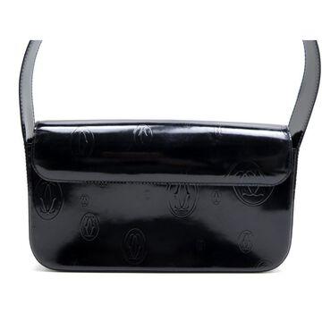 Cartier Black Patent leather Handbag