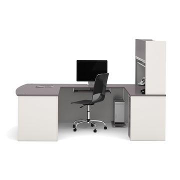 Bestar Connexion U-shaped Workstation Desk Kit