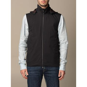 Z Zegna nylon vest with removable hood