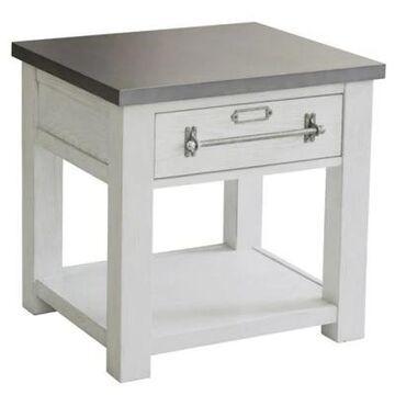 Pulaski Juliana End Table In White