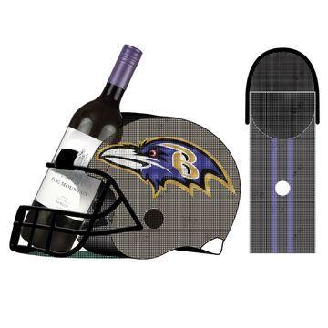 Baltimore Ravens Cork and Bottle Holder