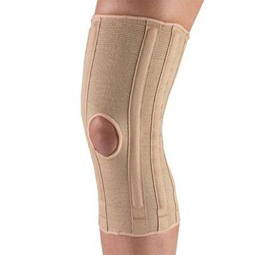 OTC Knee Support with Spiral Stays, Beige, Small