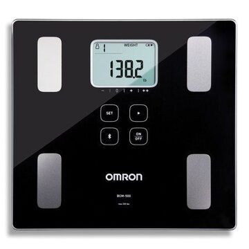Omron BCM-500 Body Composition Monitor and Scale with Bluetooth Connectivity