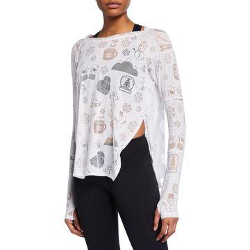 Winter Burnout Long-Sleeve Shirt