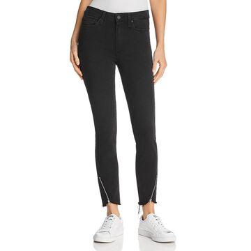 Paige Womens High Waist Ankle Jeans