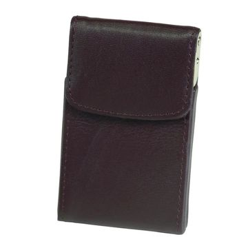 Royce Leather Genuine Leather Vertical Framed Card Case