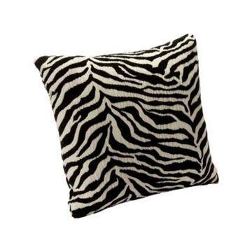 "Siscovers Zebra Zen Decorative Pillow, 16"" x 16"""