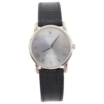 Rolex Cellini Black White gold Watches