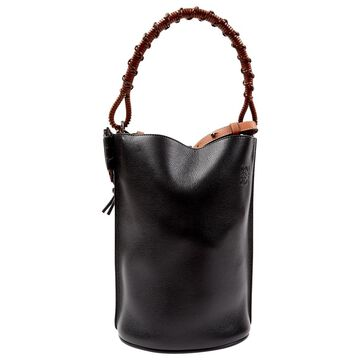 Loewe Black Leather Handbag