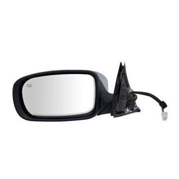 60606C - Fit System Driver Side Mirror for 11-18 Chrysler 300 Sedan, Code GTR, textured black w/ chrome cover, foldaway, w/o memory, Heated Power