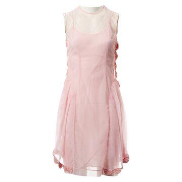 Simone Rocha \N Pink Synthetic Dresses