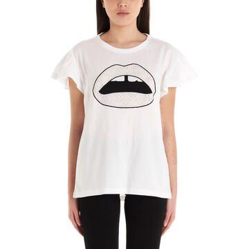 Markus Lupfer nadia Broderie Anglais T-shirt