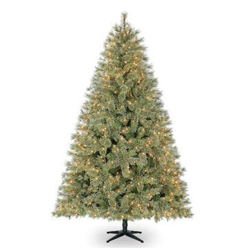 7.5Ft Pre-Lit Quick Set Jasper Artificial Christmas Tree, Clear Lights by Ashland   Michaels