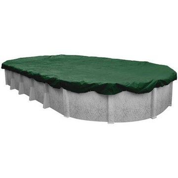 Robelle 12-Year Extra Heavy-Duty Oval Winter Pool Cover