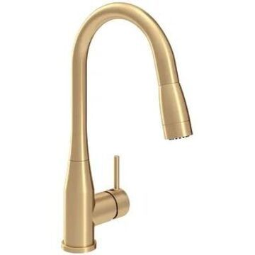 Symmons S-2302-PD-1.5 Sereno 1.5 GPM Single Hole Pull Down Kitchen (Brushed Bronze)