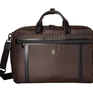 Victorinox Werks Professional 2.0 Two-Way Carry Laptop Bag (Dark Earth) Bags