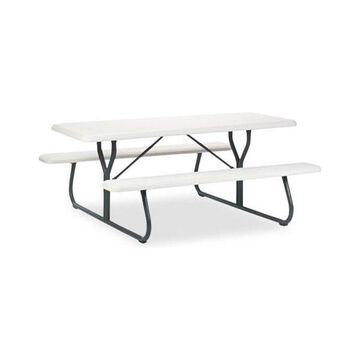 Iceberg Indestruc-Tables Too Resin Picnic Table, 72