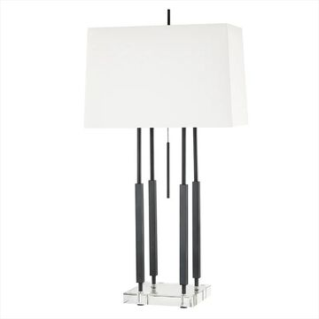 """Hudson Valley Rhinebeck 33"""" Table Lamp in Old Bronze"""