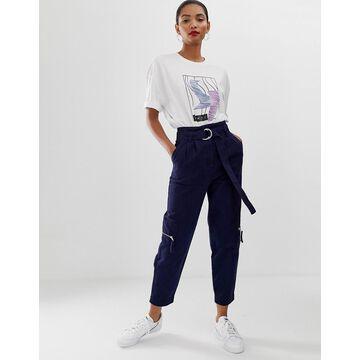 ASOS WHITE utility pocket jean-Blue