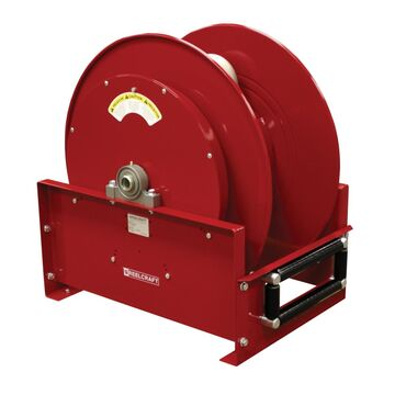 FF9500 OLPBW 1.25 in. x 50 ft. Ultimate Duty 600 PSI Fuel without Hose Reel, Red