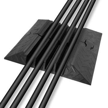 PYLE PCBL106ENDCP03 - Cable Ramp End Caps Finish Pieces, 2-Pcs. (For PYLE Model: PCBLCO106)