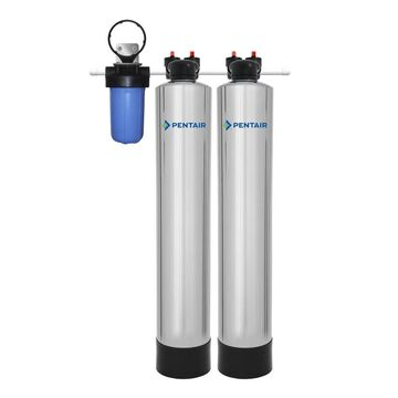 Pentair Water Softener Alternative System Water Softener Stainless Steel   PSE1800-P
