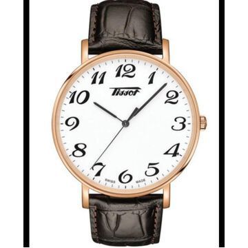 Tissot Everytime White Dial Leather Strap Men's Watch T1096.10.36.012.01 T1096.10.36.012.01