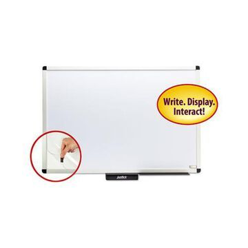 Justick by Smead Dry-Erase Board with Frame