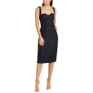 Lela Rose Womens Sheath Dress