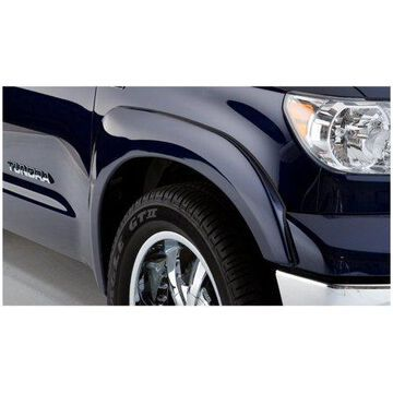 Bushwacker 07-13 Toyota Tundra OE Style Flares 2pc Fits w/ Factory Mudflap - Black