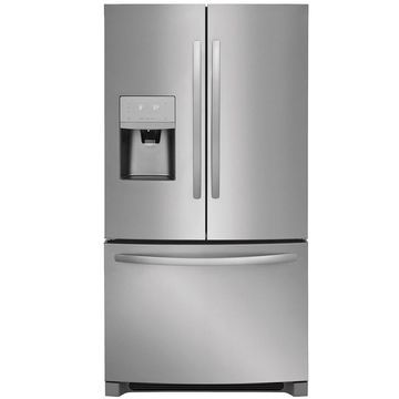 Frigidaire 26.8-cu ft French Door Refrigerator with Ice Maker (EasyCare Stainless Steel Stainless Steel) ENERGY STAR