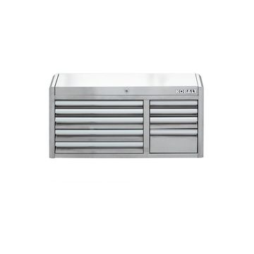 Kobalt 3000 41-in W x 22.5-in H 9-Drawer Ball-bearing Stainless Steel Tool Chest (Stainless Steel)