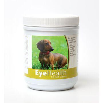 Healthy Breeds 840235145912 Dachshund Eye Health Soft Chews - 75 Count