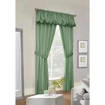 Commonwealth Home Fashions Prescott 5 Piece Curtain Set -