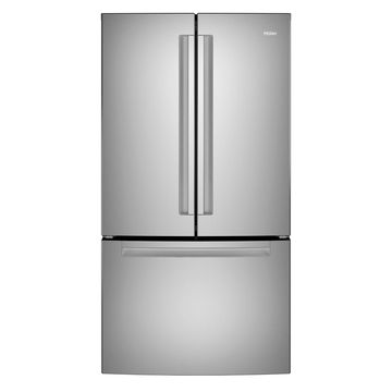 Haier 27.0 Cu. Ft. Stainless Steel French-Door Refrigerator