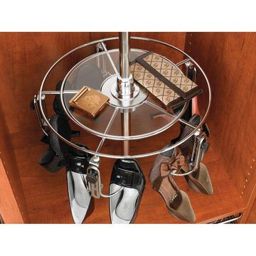 Rev-A-Shelf CLSZ-W1-1 CLSZ Series Women's Shoe-Zen Additional Shelf Tier with Hardware - Chrome