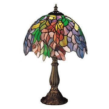 Meyda Tiffany Lamps Table Lamp, Mahogany Bronze