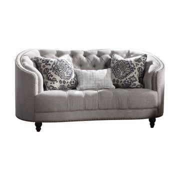 Acme Furniture Saira Loveseat Light